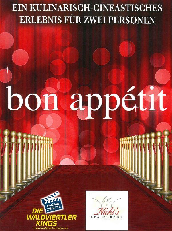 """Verschenken Sie """"Bon Appétit"""" Gutscheine"""