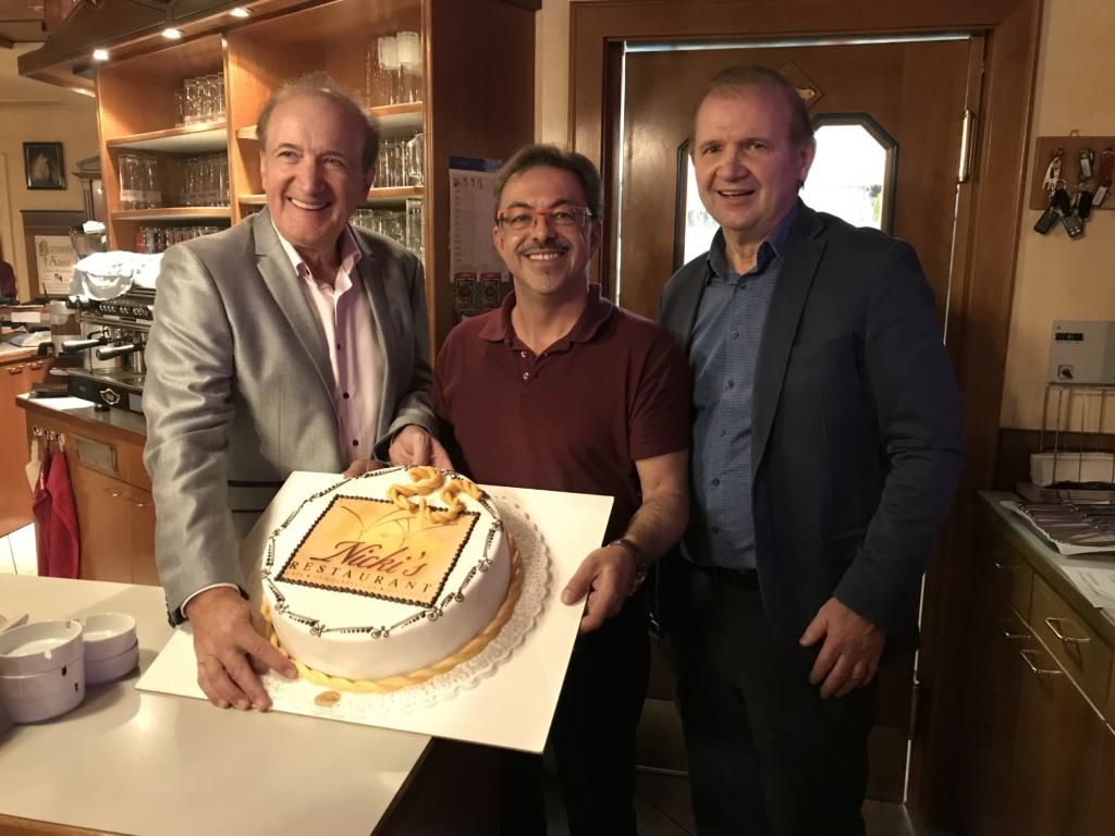 Fa. Pilz und Kiennast gratulieren Fritz Semper