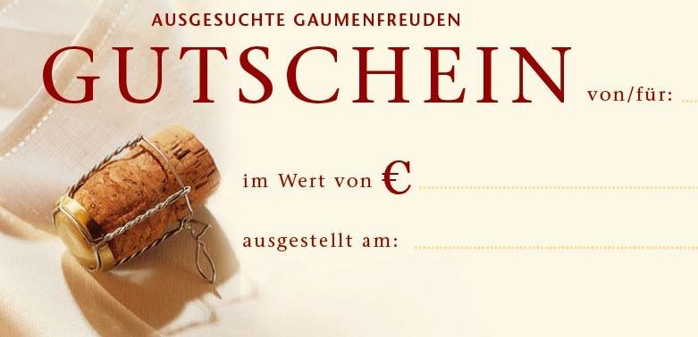 Nickis Restaurant Hausgutschein, Gutschein, Fritz Semper, Gmünd
