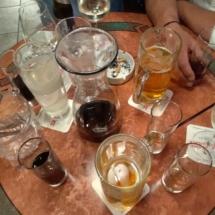 Die Gläser gehen aus, Fritz Semper wird 50 und es wird gefeiert, Nickis Restaurant, Gmünd