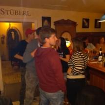 Es war gerammelt voll, Fritz Semper,50er Geburtstag, Nickis Restaurant, Gmünd