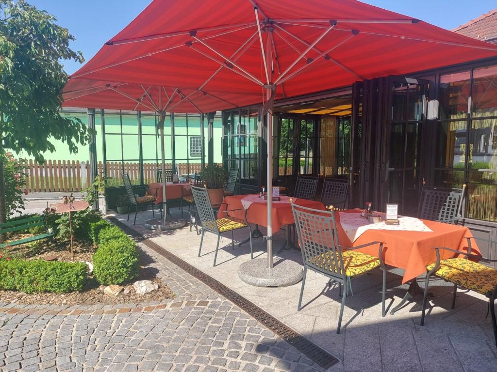 Garten bei Wintergarten, Nickis Restaurant, Fritz Semper, Gmünd