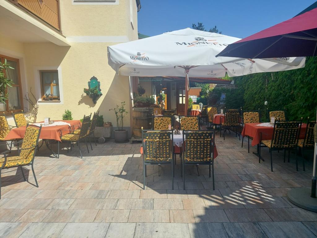 Vorgarten, Nickis Restaurant, Fritz Semper, Gmünd